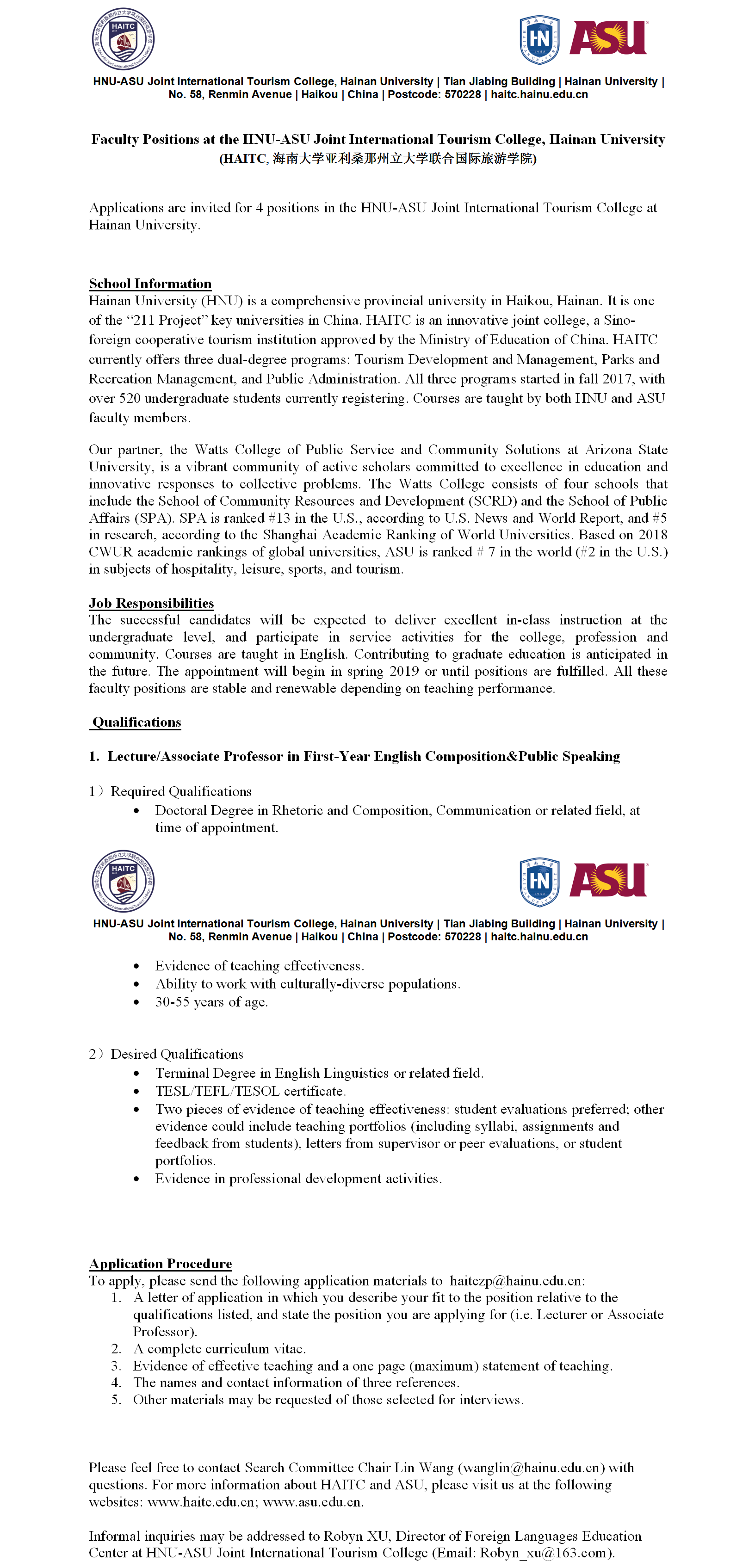 HAITC Public Speaking andAcademic Writing lectures wanted.png